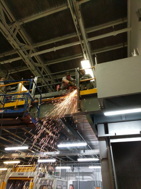 Commercial Machinery Installation